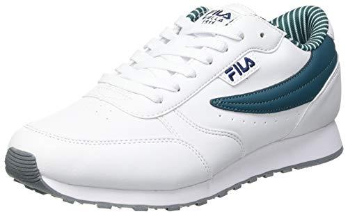 FILA Orbit F men zapatilla Hombre, blanco (White/Storm), 40 EU