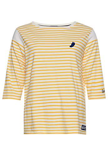 Superdry Collegiate Ivy League Crew 3/4 Sleeve T-shirt L