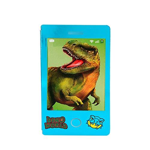 Depesche- Mini Dino World, Petit Livre de coloriage au Look Portable avec Image animée de Dinosaure, Environ 13,8 x 7,2 x 0,5 cm, Assortiment, 10203116, Pas de Choix de Couleur, 3 pièces