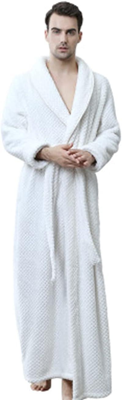 DUSISHIDAN Women Men Matching Winter Fur Bathrobes 1506