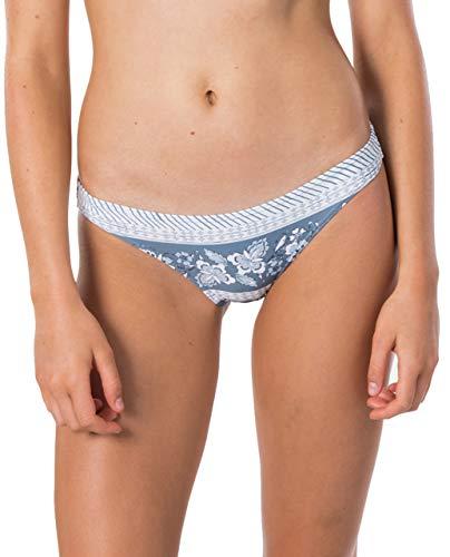 Rip Curl - Parte superior de bikini, bikini, cuello alto, bikini surf, Mujer, NAVY BEACH FULL PANT, Navy DX9, extra-large