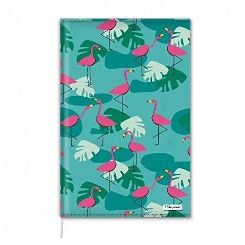 TROPICAL HEAT - Notizbuch - Notebook - im trendigen Design - aus absolut reissfestem und wasserabweisenden Tyvek® - Made in Germany ILP22466 Größe DIN A5