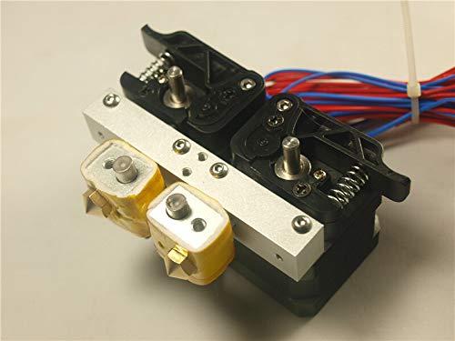 XIAOMINDIAN 1 set*MK10 dual Extruder Assembly full kit 1.75mm Nema 17 motor compatible Flashforge/Wanhao/CTC for DIY 3D printe Printer Parts