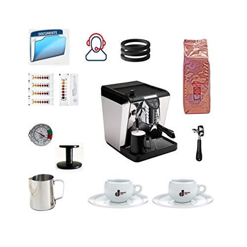 Find Cheap Simonelli Oscar Tank Black Espresso Machine Bundle with Coffee, Latte Gear Accessories (1...