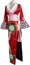 ONE PIECE風 ボアハンコック風 海賊女帝 蛇姫 コスプレ コスチューム 大人 アニメ cosplay イベント (セット, XL)