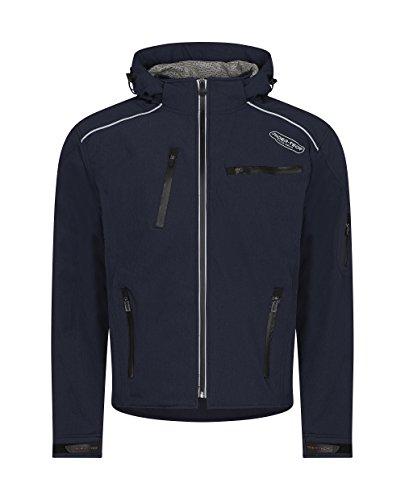 Preisvergleich Produktbild Rider-Tec Motorradjacke Textil RT-2700-BU,  Blau (Bleu Jean)