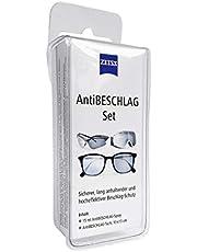 Zeiss Spray antivaho con 15 ml de Contenido, Incluye un paño de Limpieza para Gafas para una Larga protección antivaho, también en Condiciones de Alta Humedad.