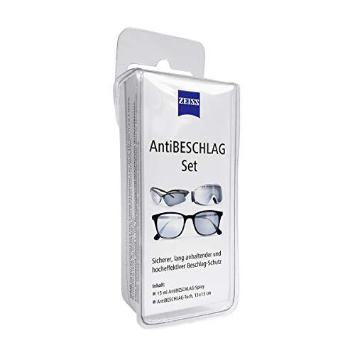 ZEISS AntiBeschlag-Spray mit 15ml Inhalt inklusive einem Brillen-Reinigungstuch für einen lang anhalzenden Beschlagschutz/auch bei hoher Luftfeuchtigkeit