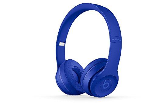 Beats Solo3 Wireless On-Ear Headphones with Built-in Microphone - Break Blue (Renewed)