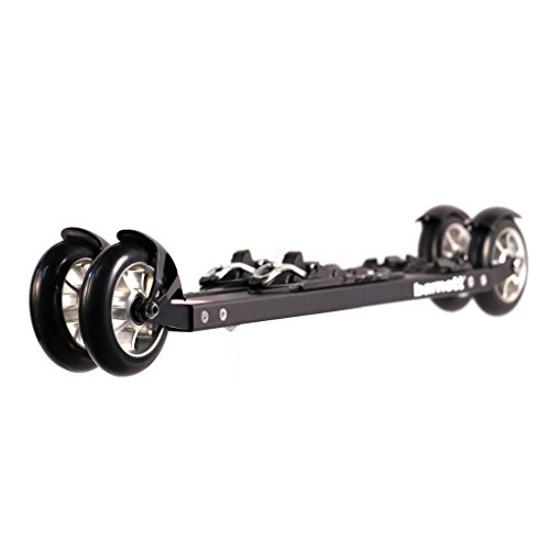 BARNETT RSE-Entry Roller Ski Skating with Bindings, Black (530)