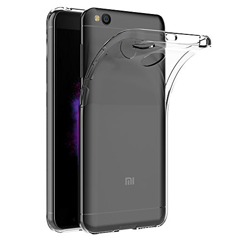 AICEK Funda Xiaomi Redmi 4X, Transparente Silicona Fundas para Redmi 4X Carcasa Xiaomi Redmi 4X (5,0 Pulgadas) Silicona Funda Case