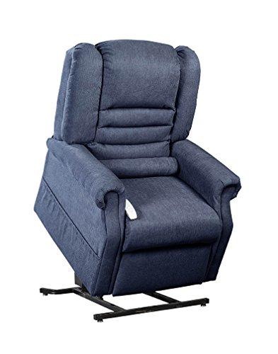 Mega Motion Serene Infinite Position Reclining Lift Chair - Navy