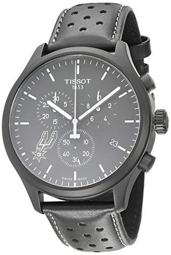 Tissot Chrono XL Herren-Armbanduhr 45mm Armband Leder Quarz T116.617.36.051.04
