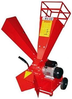 Caravaggi Bio 60 E - Triturador eléctrico (2200 W, diámetro 5 cm)