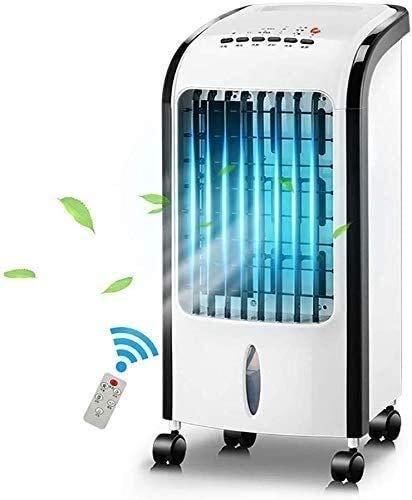 MERCB Raffreddatori evaporativi Ventilatore Senza Foglie per la casa Ventilatore dell'Aria condizionata Telecomando Freddo Singolo Dispositivo di Raffreddamento dell'Aria per Uso Domestico