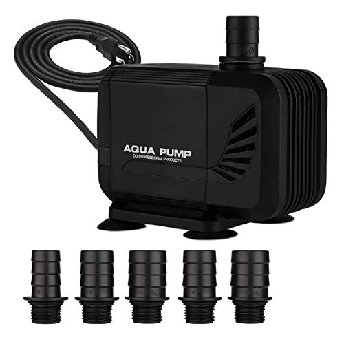 KEDSUM 550GPH Inline/Submersible Water Pump(2100L/H