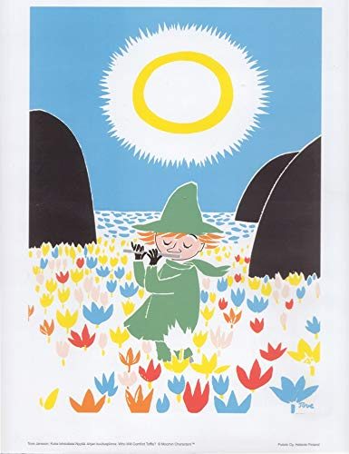 Moomin Snufkin Tove Jansson Poster/Kunstdruck 50 x 70 cm