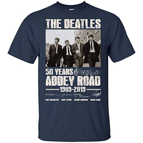Leet Group Beatles On Abbey Road 50 Years 1969-2019 Shirt
