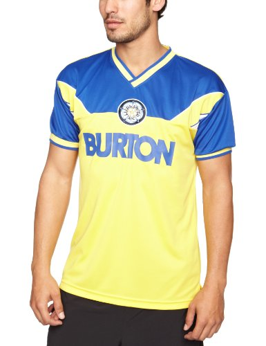 Leeds United 1986 Away Trikot Men's Retro Medium - zitronengelb