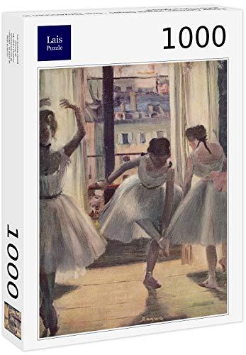 Lais Puzzle Edgar Germain Hilaire Degas - Tre Ballerini in Una Sala d'esercizio 1000 Pezzi
