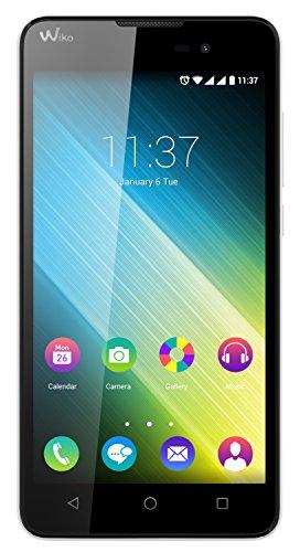 Wiko Lenny 2 Smartphone (12,4 cm (5 Zoll) IPS-Display, 1,3 GHz Quad-Core Prozessor, 8GB interner Speicher, 1GB RAM, Android 5.1 Lollipop) weiß