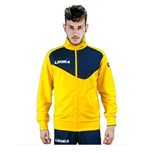 LEGEA Messico Jacket, Blu/Giallo, L Mens