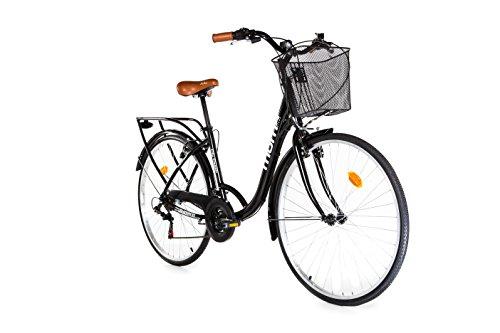 """Moma Bikes City Classic 28"""" - Bicicleta Paseo , Aluminio , SHIMANO 18V"""