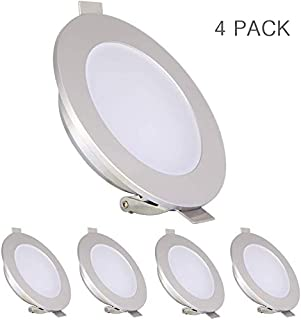 RV Boat Recessed LED Ceiling Light, Low Profile Overhead Puck Light for Truck Motorhome Cabinets Camper Trailer Sailboat Y...