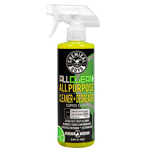 Chemical Guys CLD_101_16 All Clean+ Citrus Based All Purpose Super Cleaner (16 oz)