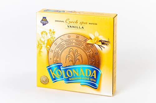 5 Packungen Oblaten Kolonada mit Vanillecreme-Füllung in Kakao-Oblate