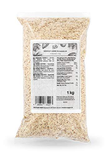 KoRo - Mandorle tritate 1 kg - farina proteica low carb, 100% mandorle sgusciate, senza zucchero e senza glutine, per pane, dolci, biscotti, torte e barrette