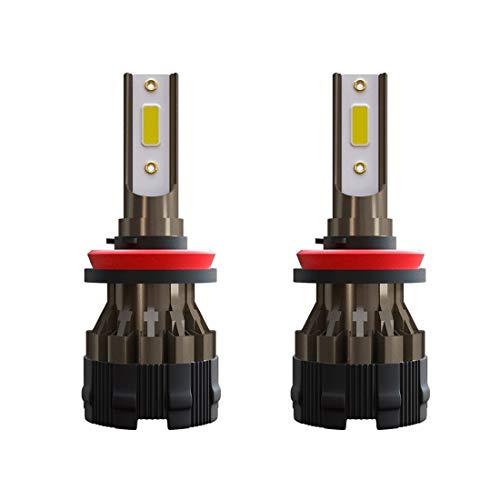 Xyamzhnnn Lámparas de Faros LED de Forma Cuadrada IP67 para Jeep Wrangler con Apertura, 5 Pulgadas H4 DC 9V-30V 5000LM 6000K / 3000K 45W