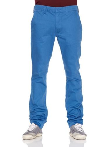 Cheap Monday Pantalone Chino Blu Royal W33L32