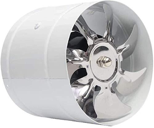 YWAWJ Inline Conduit Ventilateur, Aspiration Hotte, Faible Bruit Ronde Hotte de ménage Hotte de Cuisine Hotte silencieuse et puissante Ventilateur Hotte (Color : B)