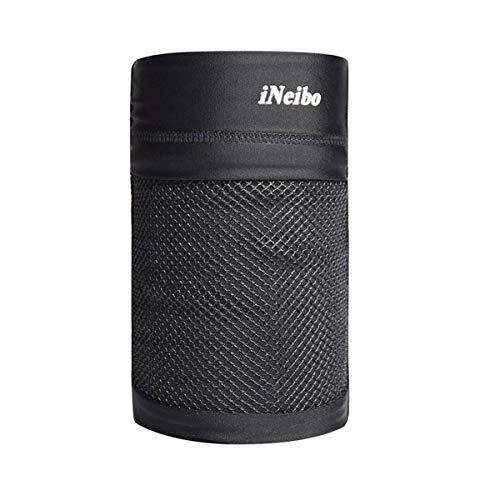 iNeibo Brazalete Deportivo Smartphones de hasta 7 '' Ligero, Transpirable y Antideslizante (Negro/XL)