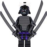 LEGO Ninjago - Minifigure Lord Garmadon (Legacy) con 4 braccia e spade