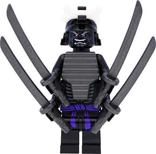 LEGO Ninjago - Figura de Lord Garmadon (Legacy) con 4 brazos y espadas