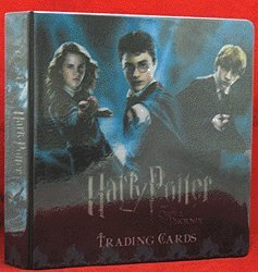 Harry Potter & the Order of the Phoenix Update - Rare Holographic Variant 3-D Trading Card Binder image