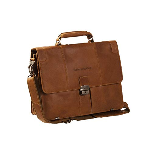 Joe Laptoptas 15 inch leer Cognac