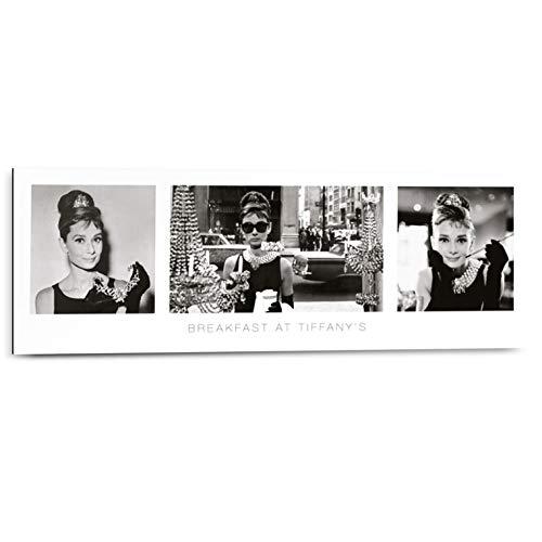 REINDERS Audrey Hepburn Breakfast at Tiffany's - Wandbild 90 x 30 cm