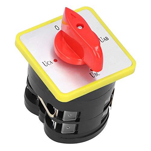 SALUTUYA Interruptor de Leva eléctrico de tamaño pequeño LW5D ‑ 16YH2 /...