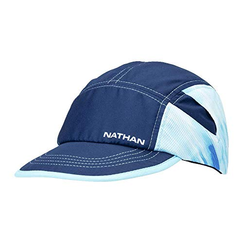 Nathan RunCool Ice Run Hat. Cap with Stash Pocket for Ice. Stay Cool While Running.