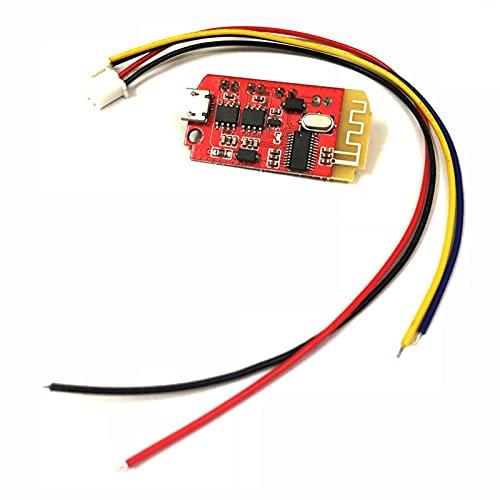 WUTINGKONG Sensor CT14 Micro 4.2 Módulo de Placa de Amplificador de Potencia de Bluetooth Bluetooth 5VF 5W + 5W con Puerto de Carga para Recoger la Caja de Sonido inactiva