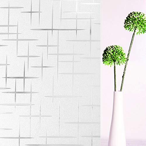 Tamia-Living Statische raamfolie, 90% uv-zonwering, zichtwerende folie, glasdecoratie, sterren, kunststof, S019 ster 60 x 150 cm