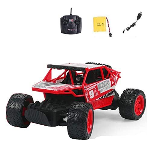 THj Coche RC Vehículo Todoterreno de Alta Velocidad Escala 1:18 4WD 2.4GHz Coche de Carreras eléctrico Control Remoto Buggy Vehículo Camión Buggy Crawler