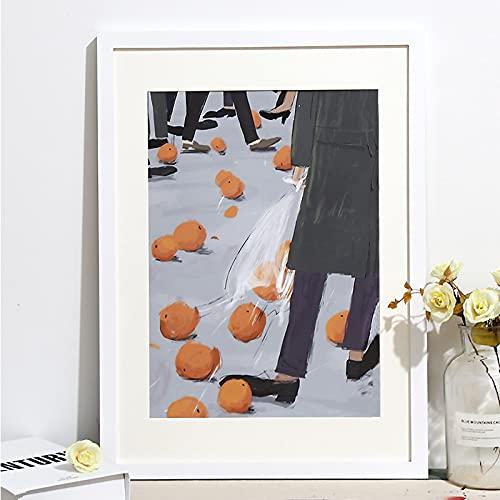 MEYYY ramka na zdjęcia 61 cm ramka na zdjęcia certyfikaty ramki do zawieszenia na ścianie i na blacie, biała, 50,8 x 70,8 cm