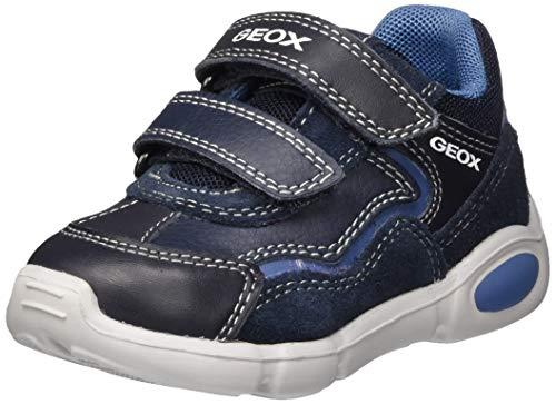 Geox Baby-Jungen B Pillow Boy A First Walker Shoe, Blau (Navy/Avio), 24 EU