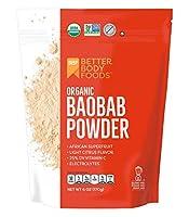 BetterBody Foods Organic Baobab Powder - 6 oz by BetterBody Foods