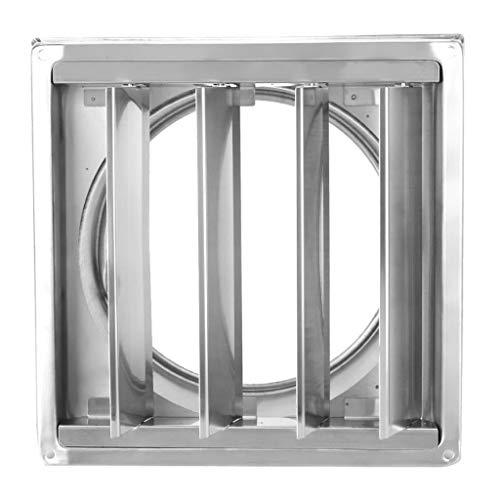 LANDUA Entlüftung Edelstahl Luft Entlüftungskanal Grill Quadratischer Luftauslasstrockner Dunstabzug Lüftungsabdeckung Quadratischer Dunstabzug Das Moderne Zuhause