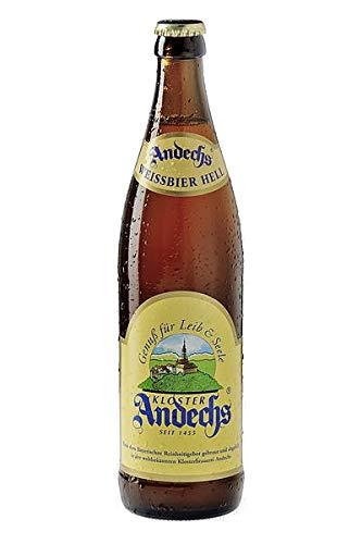 Andechser Weißbier Hell 12 Flaschen x0,5l